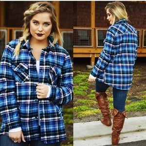 Hope's 'hard working' flannel jacket